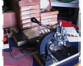 Vintage Hot Stamping Machine