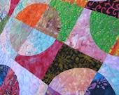 Batik Circles Quilt