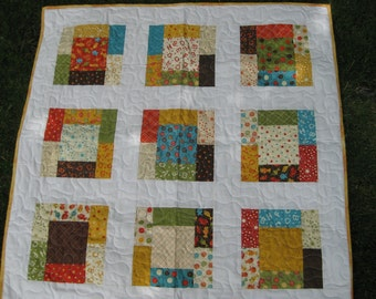Baby Quilt- Lollipop by Sandy Gervais for MODA