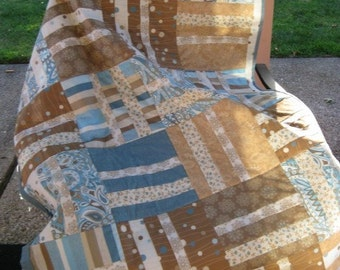 Stripes, Stripes and More Stripes Quilt