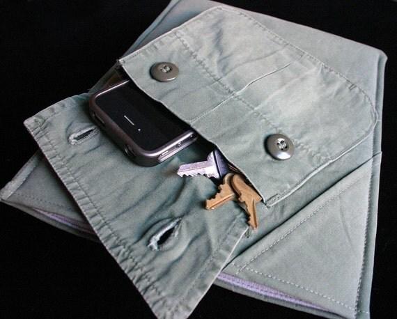 New iPad case - Olive Combat - Lightweight case