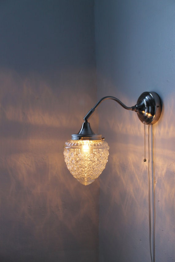 Special Order for Leah Shanks - 2 acorn sconce lights