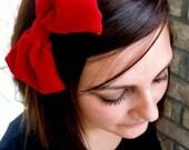ALICE Red Velvet Headband