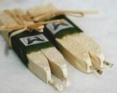 Natural Sealing Wax IVORY 4 sticks for seals handmade