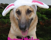 "Sheep Costume for large dogs with 16-23"" collar size"