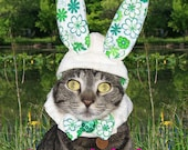 The Hopper Bunny Hat for cats and dogs