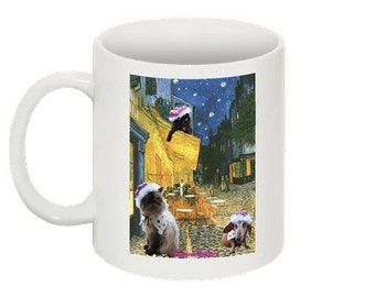 Vincent  van Gogh Cafe Terrace at Night coffee mug