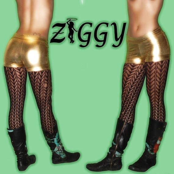 Custom Metallic Dance Shorts