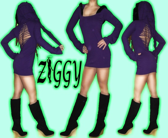 Custom Hooded Elven Mini Dress