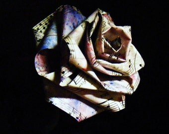 Petal Paper - Sheet Music paper roses