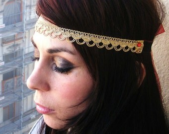 Velvet&Laced -India -choker, head band or belt