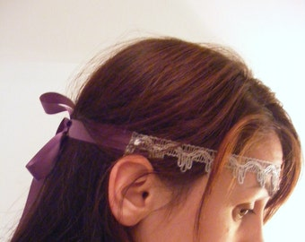 Velvet&Laced - Greece - choker, headband or belt