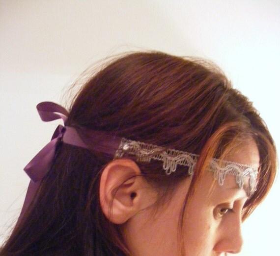 Velvet&Laced - Greece - choker, headband or belt