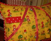 Little Red Reading Pillow -- one RESERVED for holmersu
