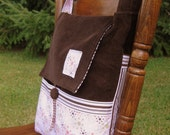 XeF6 Messenger Bag-- Custom for Esther
