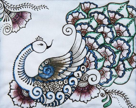 Dancing Peacock Henna ...