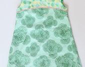 Mint Mod A-Line Dress  60s Style