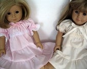 Doll Nightgown for American Girl 18 inch doll