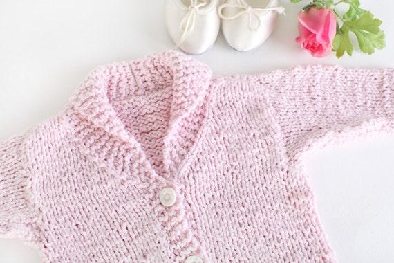 Baby Sweater Organic Luxury Yarn