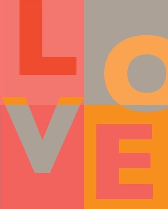 8x10 Kids Art (Square Love Print)