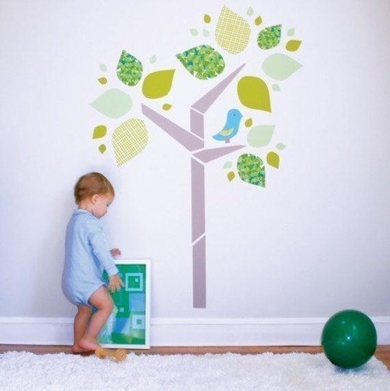 Build a Tree Decal Kit - Kids Decal