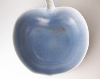 Blue Apple Bowl, Dryden Potttery