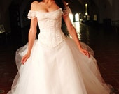 Phantom of the Opera Wedding Gown with bonus FIRST INSTALLMENT of 3, gown total price 2250