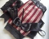 Lady Vonne Von Vonne Steampunk fingerless gloves\/gauntlets