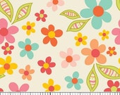 Half Yard - Riley Blake - Sweet Nothings - Cream Sweet Floral