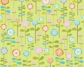 SALE - One Yard - Riley Blake - Happier - Green Garden