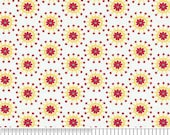 SALE - One Yard - Riley Blake - Hoo's In The Forest - Yellow Flower Jacks
