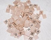 100 Scrabble Tiles