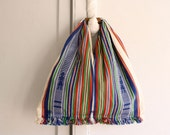 woven Scandinavian market tote carry all