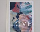 LOVE pastel noteset (set of 3)