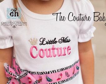 Little Miss Couture Princess High Heel Shirt