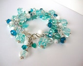 Ovarian Cancer Awareness charm bracelet