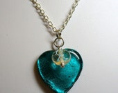 Teal for Tammy necklace