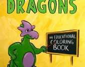 Incredible Facts About Dragons - an educational coloring book