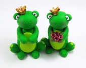 Wedding Cake Topper, Frog, Cake Decoration