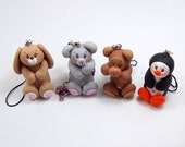Animals Polymer Clay Charms - Pick Your Favorite