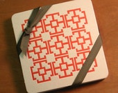 Monogram Coasters, T