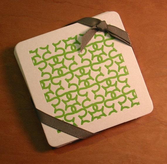 Monogram Coasters, S