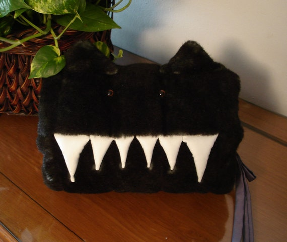 Faux Mink Monster Muff