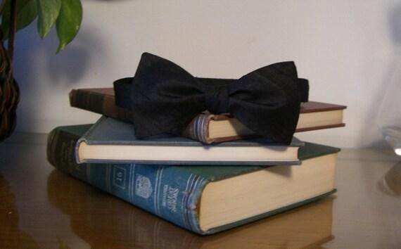 Formal Black Bow Tie