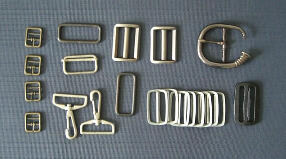 Assorted Hardware Buckles Plus