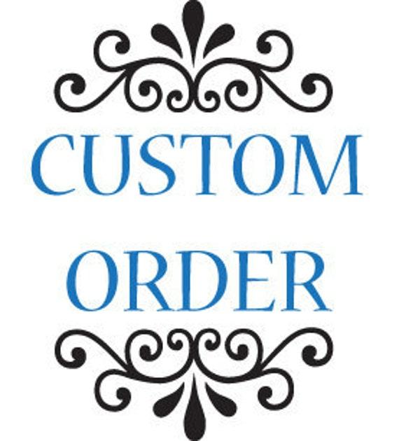 Reserved Listing for Sarah - Custom Wedding Monogram
