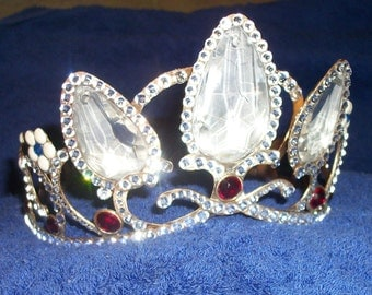 Rapunzel, Costume accessories, Crown, Tiara, Wedding accessories, Crystal replica crown
