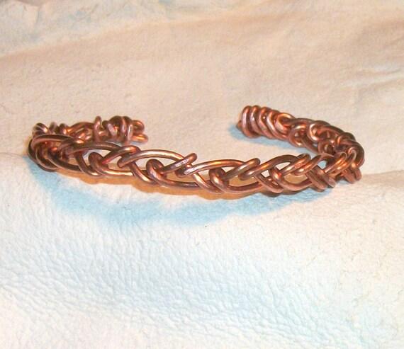Wrapped Copper Bracelet  Shop Unisex
