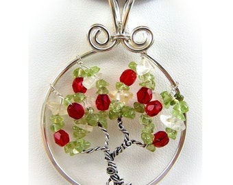 Wire Wrap Lesson Tree of Life Pendant  Apple Tree PDF