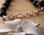 SALE Wild Petunia Necklace